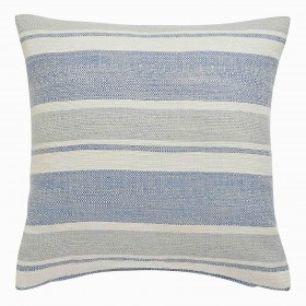 """Denver Cushion Cases (18"""" x 18"""") Finished in Blue"""