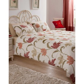 Kinsale Bed Sets in Terracotta - Available In Three Sizes