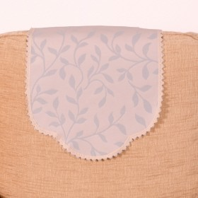 Leaf Chairback (Single) For Chairs and Settees. Finished In Grey.