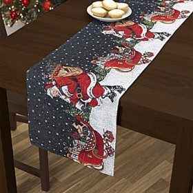 "Festive Christmas Tablerunner (Single) 63"" x 14"" (160cm x 35cm)"