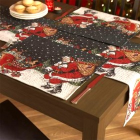 "Festive Christmas Tablemats (Pack of Four) 14"" x 14"" (35cm x 35cm)"