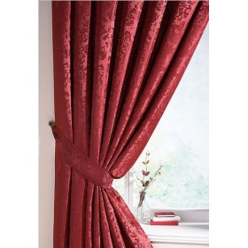 Lana Damask Tiebacks (Pair) Available in Wine Red
