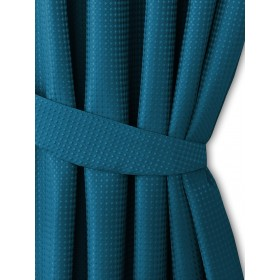 Waffle Tiebacks (Pair) Available in Teal