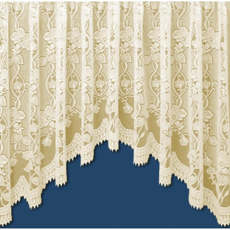 Andrea Heavyweight Jardiniere Net Curtain In Cream