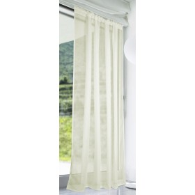 Slot Top Voile Panels (Pair) - Finished In Cream