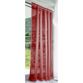 Slot Top Voile Panels (Pair) - Finished In Red