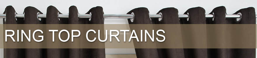 Click here to see our full range of ring top curtains